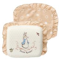 優雅比得兔乳膠圓型枕(附枕套)